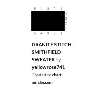GRANITE STITCH - SMITHFIELD SWEATER