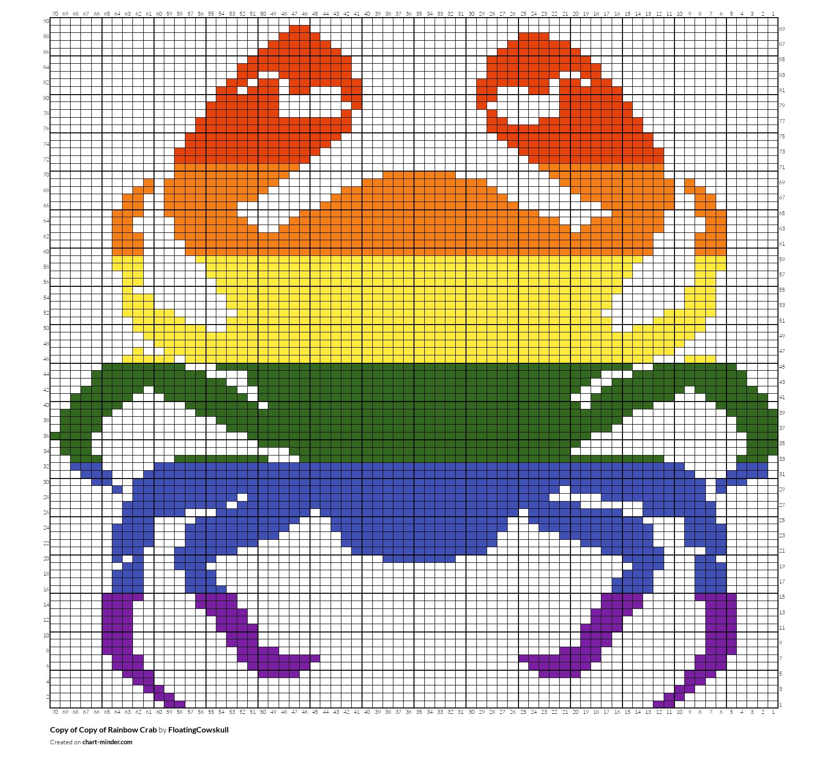 Copy of Copy of Rainbow Crab