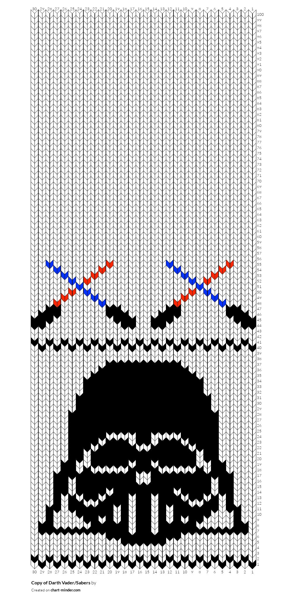 Copy of Darth Vader/Sabers