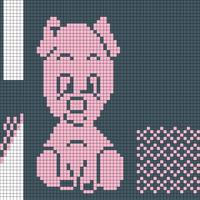 Piggy mitts