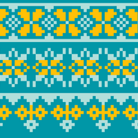 Copy of Copy of Three Colour Fair Isle