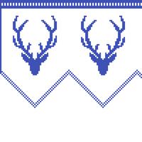 gardinkappe hjort