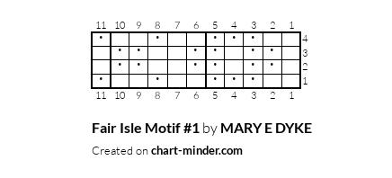 Fair Isle Motif #1