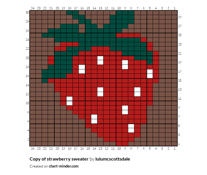 Copy of strawberry sweater