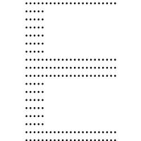 ABC compatible letter E