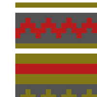 Burgundy/Gray/Green