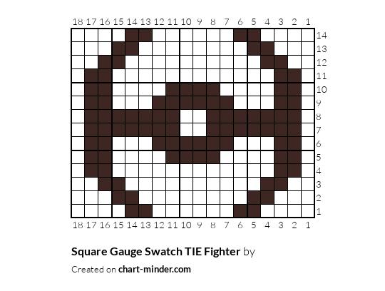 Square Gauge Swatch TIE Fighter