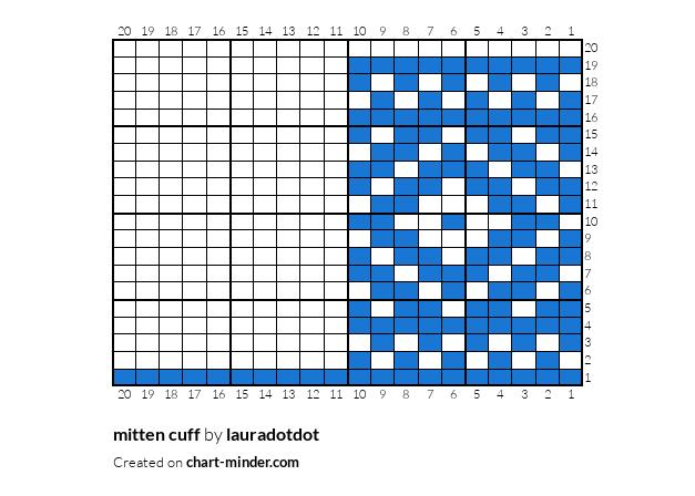 mitten cuff