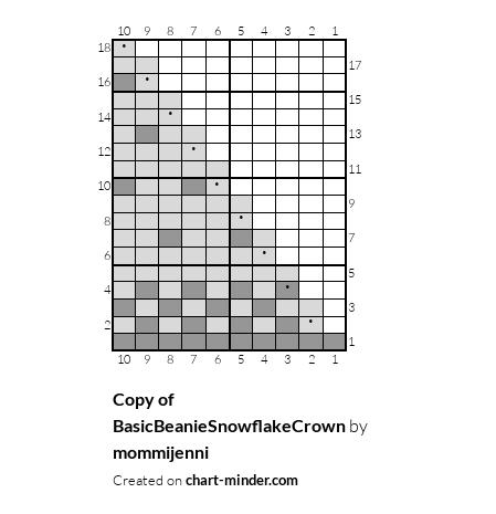 Copy of BasicBeanieSnowflakeCrown