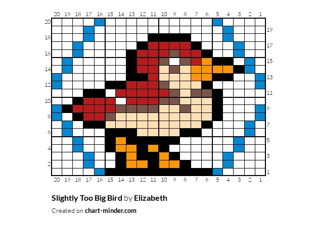 Slightly Too Big Bird
