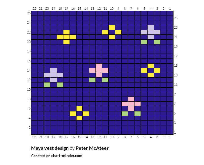 Maya vest design