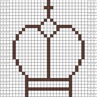 King (outline)