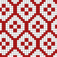 Copy of traditional tiles