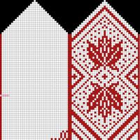 Mitten, Adult L, 76x74, Maple B