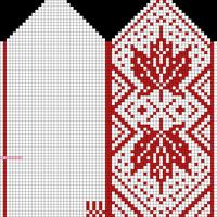 Maple, Adult M, 68x74, Mitten