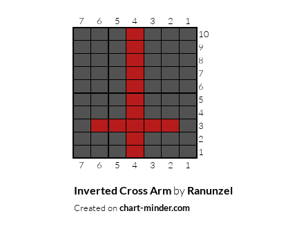Inverted Cross Arm