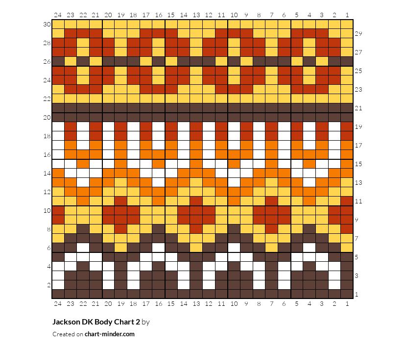 Jackson DK Body Chart 2