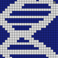 Copy of Blue and Silver 24x48 DNA Accurate
