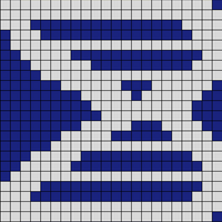 Blue and Silver 22x34 DNA Accurate