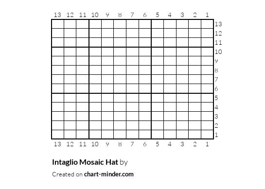 Intaglio Mosaic Hat