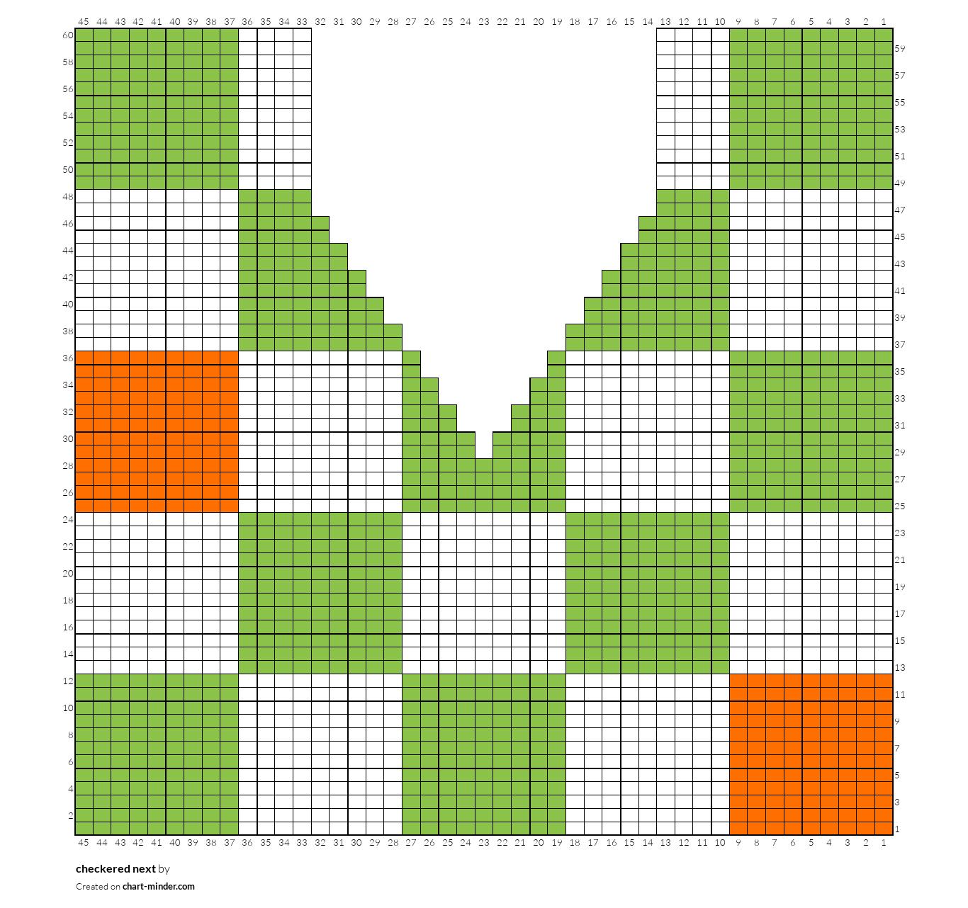 checkered next